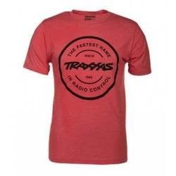 T-shirt Röd Rund...