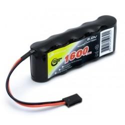 Mottagarbatteri NiMH 6,0V...