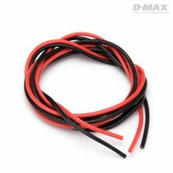 Kabel Röd & Svart 18AWG...