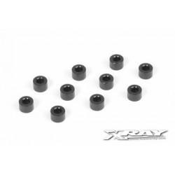 Alu shims 3x6x4.0mm (10)